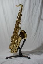 sms academy tenor saxophone. With comes with a stand and some acessories.