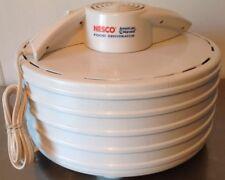Nesco American Harvest Dehydrator Model FD-35 Jerky Maker Fruit Roll Sheets