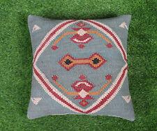 """Jute Cushion Cover Home Decorative Pillow Cover Handmade Throw Sham Cover 18"""""""