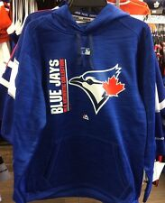 Authentic Collection Team Icon Pullover Hoody Majestic Toronto Blue Jays Small