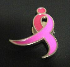 Susan G. Komen Breast Cancer Awareness Pink Ribbon Magnetic Lapel Pin New In Bag