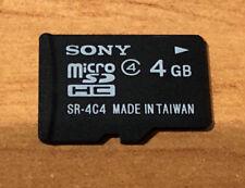 Sony MicroSD HC Speicherkarte 4GB *gebraucht* SR-4C4