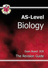 AS Level Biology: Revision Guide - OCR by CGP Books (Paperback, 2004)