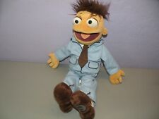 "19"" Disney Store Authentic Muppets Most Wanted WALTER In Blue Suit Plush Stuffed"