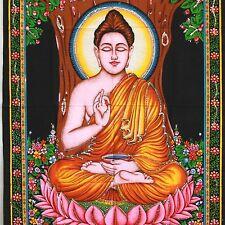 Wandbehang Bild Buddha Meditation Indien Goa Hippie  Bollywood  13