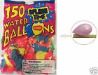 150 PCS Count WATER BALLOONS Bombs Lot For Party - Assorted Colors