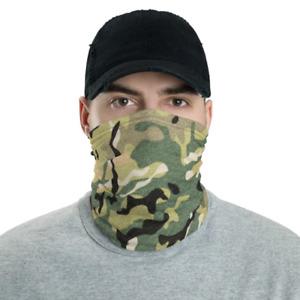 Neck Gaiter, Premium Neck Face Covering Mask Multi-functional - Multicam
