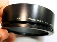 Olympus AF 35-70mm f3.5-4.5 Lens Hood Shade genuine vintage snap on type