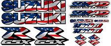 GSXR1000 USA Flag Fairing Decal Stickers 1000 Decals graphics Sticker Srad GSXR
