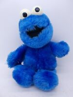 """Vintage Applause Blue Cookie Monster Plush Toy Stuffed Animal 12"""""""