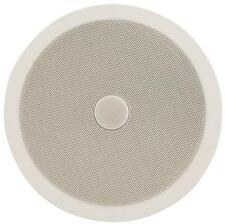 """Adastra 952.543 8 """" 20cm Haut-parleur de plafond EASY FIT Tweeter Directionnel Blanc / Gris"""