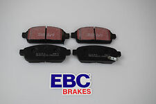 VAUXHALL Astra J 2009-2015 EBC Ultimax Rear Brake Pads DPX2066