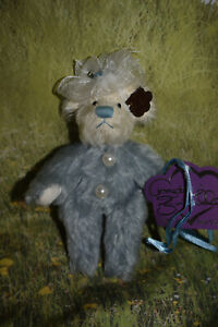 """Annette Funicello Bear - Bluey and His Chewy - 6"""""""