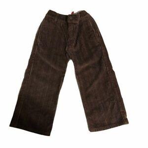 Hanna Andersson Dark Brown Corduroy Pants Size 100