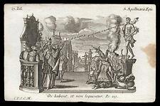 santino incisione 1700 S.APOLLINARE V. DI RAVENNA  klauber