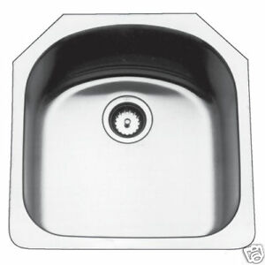 Kindred Stainless Steel Undermount Sink US2120/90RK/E