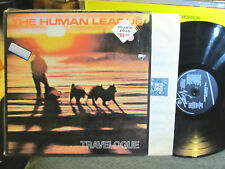 human league the travelogue w/shrink uk 1980 new wave synth virgin france rare!