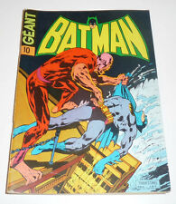 SAGEDITION   Batman Géant Série 1     de 1974    N° 10