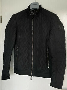 Belstaff Herren Jungen Steppjacke Jacke Mantel Gr. XS S 46 Jacket Pullover Shirt