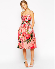 Floral skater dress with pockets