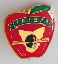 Tasmania Railway Institute Railway Bowling Club Badge Rare Vintage Train (M11)