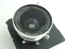 Schneider Super-  Angulon 90mm  /f8.0 lens, Compur shutter, TOYO-VIEW lens board