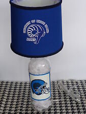 Sports Table/Desk Lamp (Hand-Painted Univ. of Rhode Island Logos & Shade)