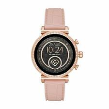 Michael Kors Access Women's MKT5068 Sofie Pink Silicone Heart Rate Smartwatch