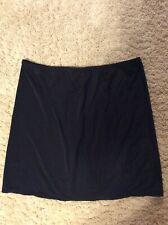 Ladies Black Slip Size Large Marilyn Monroe Intimates Slit In Back Soft Comfy