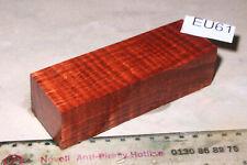 Griffblock US Riegelahorn amboinafarben stabilisiert 128x42x34mm puq EU61