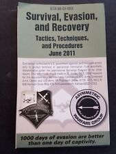 Military Pocket Fold Out Survival Evasion & Recovery GTA 80-01-003