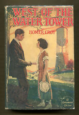 WEST OF THE WATER TOWER by Homer Croy (1923) Photoplay Ed. in DJ - Glenn Hunter
