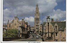 Postcard Lincolnshire Stamford  the bridge St Mary's Hill and Church  un posted
