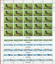 Samoa #1142-53, Sheet of 25, Endangered Bats & Birds, SCV $1,715.00