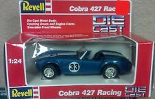 1/24 REVELL RACING Shelby COBRA 427 ROADSTER #33 BLUE WITH WHITE STRIPES Vintage