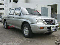 LH GENUINE PARTS Mitsubishi L200 Passenger Side Rear Reflector 2WD 4WD 1996-2006