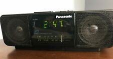 Panasonic Stereo Am/Fm Alarm Clock Radio Rc-X220 Ambience 2 Alarms Euc