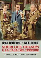 SHERLOCK HOLMES E LA CASA DEL TERRORE  DVD THRILLER