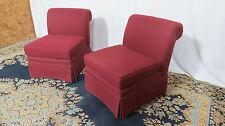 Highland House Pair Slipper Club Chairs