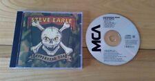 Steve Earle Copperhead Road 1988 UK CD Album DCMF3426 Country Folk Rock