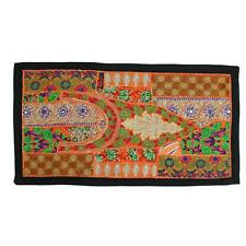 Vintage Embroidered Patchwork Indian Dorm Decor Bohemian Tapestry Wall Hanging