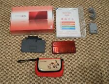 Nintendo 3DS, Flame Red, 2GB memory card withfour games
