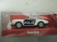 Herpa 044813 Porsche 911 polis negro policía en OVP de policía-colección (* 4)