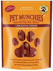 Pet Munchies 100% Natural Dog Treats - Chicken & Cheese - 100g
