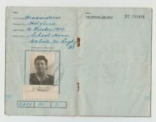 More details for walcote leicester travel identity card uk 1946 headmistress mrs beatrice green