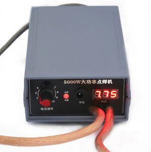 5000W Mini High Power Battery Spot Welder kit;Welding Tools 0.1-0.15-0.2-0.25mm
