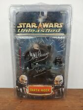 💥SIGNED by DAVID PROWSE! Star Wars Unleashed Darth Vader Action Figure Statue