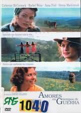 Amores en tiempos de guerra. DVD