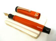 "Vintage 1920's PARKER Fountain Pen ~ Oversize DUOFOLD JR ""Big Red"" 14K Nib ~ ExC"