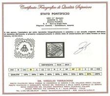 Francobolli italiani dell'antico Stato Pontificio grigio